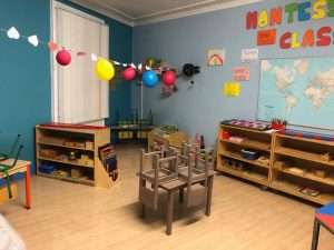 All tidied up in our Barrow Street montessori class